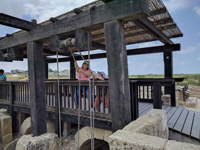גשר התפעול של הסכר נחל תנינים