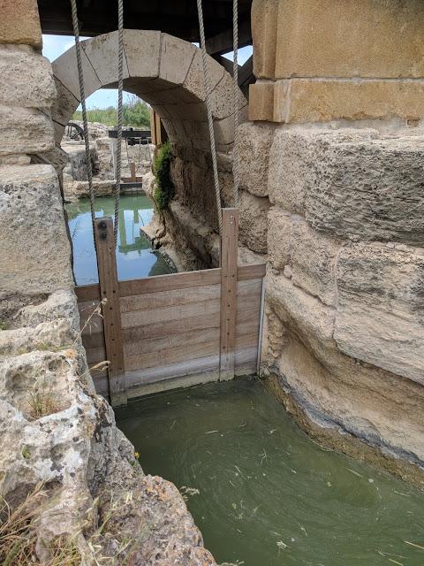 הסכר בנחל תנינים