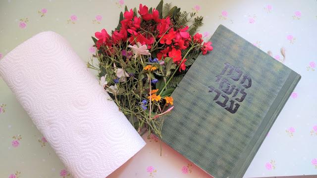 ייבוש פרחים איסוף פרחים לייבוש