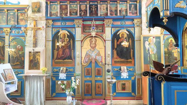 הכנסיה היוונית האורטודוכסית גאורגיוס הקדוש