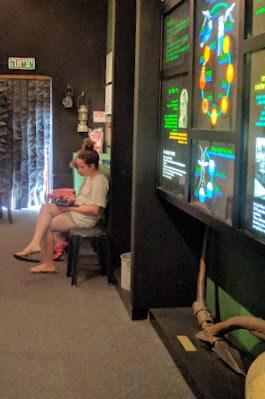 חדרה מוזאון החאן החדר השני של המשחק