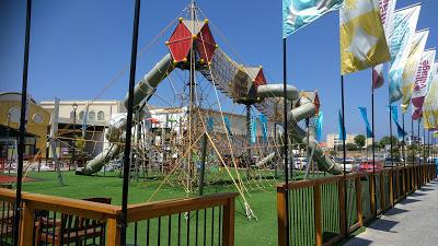מול הים חדרה מתקן משחקים ענק