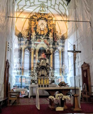 זאמושץ בפולין הכנסיה הגדולה בעיר