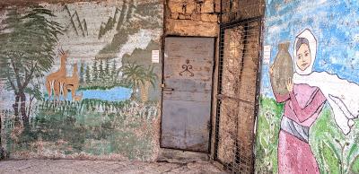 צוירי קיר בסמטאות בית ג'אן