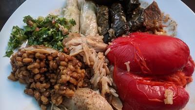 פסטיבל הזית - אוכל דרוזי בגליל