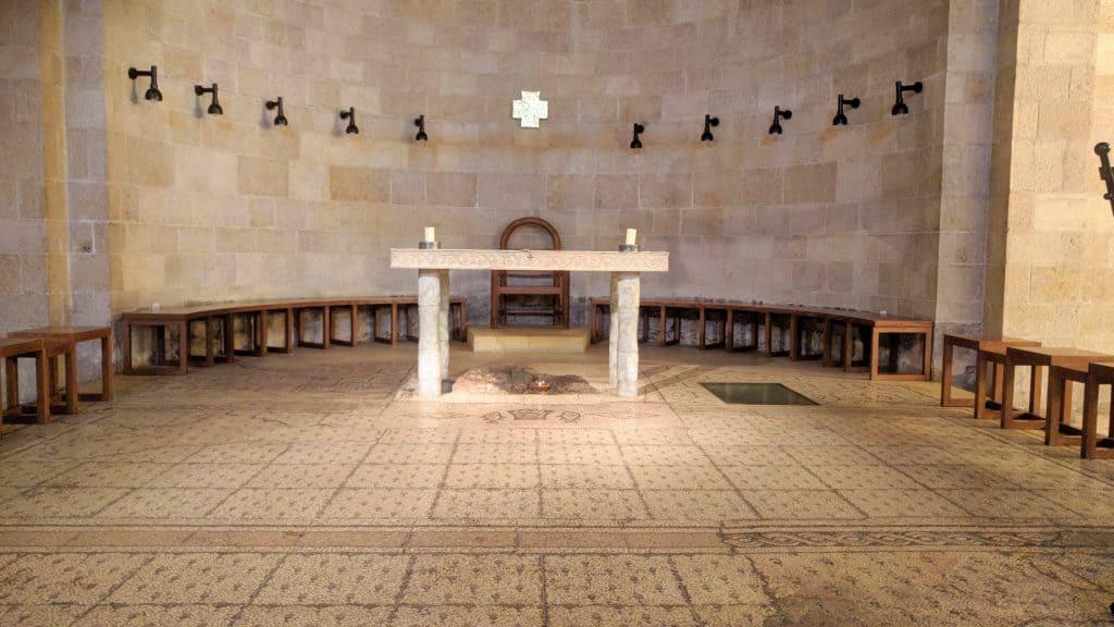 נצרות סובב כנרת כנסיית הפטפגון