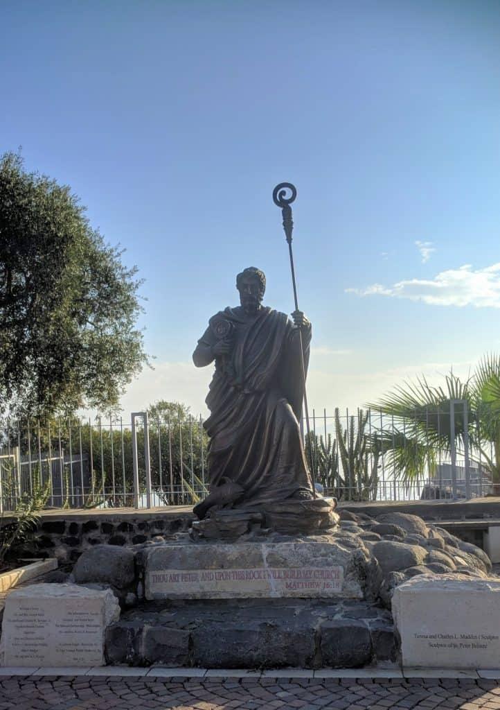 נצרות סובב כנרת - כפר נחום