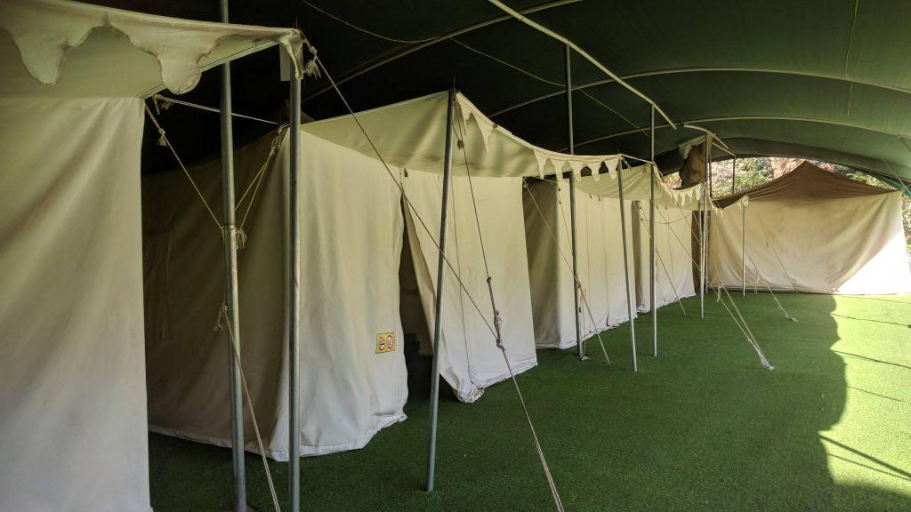 חמת גדר מתחם האוהלים