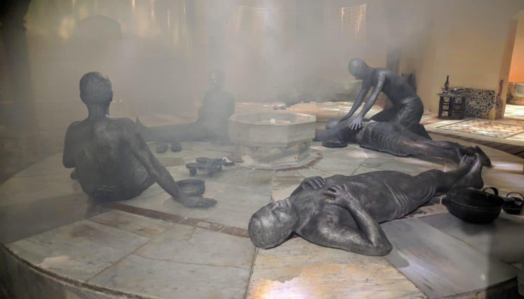 עכו העתיקה - החמאם התורכי
