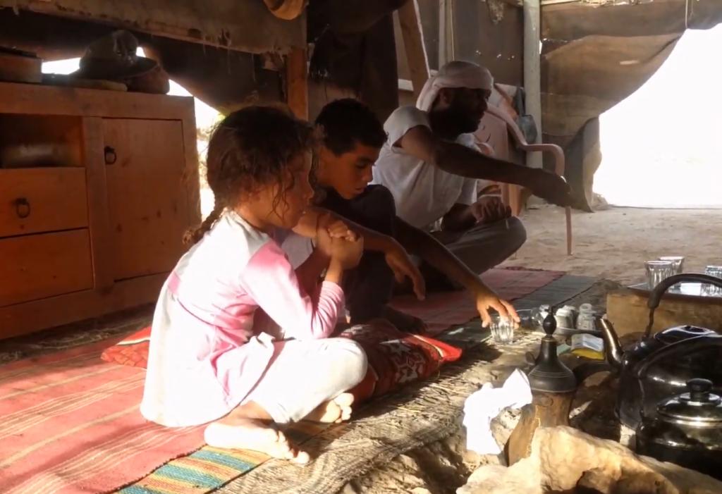 אירוח בדואי יאלהלה אוהל בדואי בהר הנגב