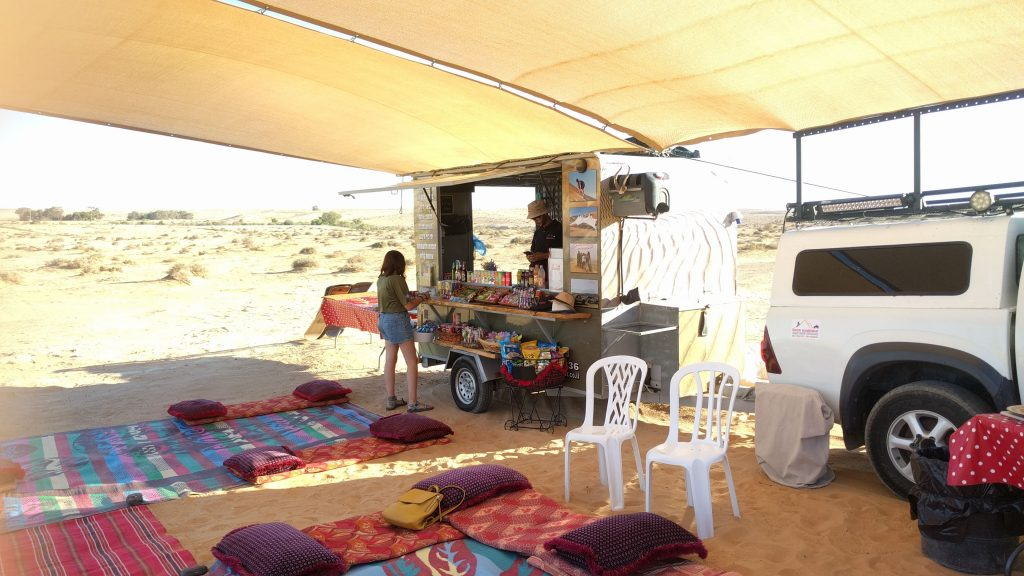 פינת הזלה של דרור במדבר גלישת חולות צומת שבטה