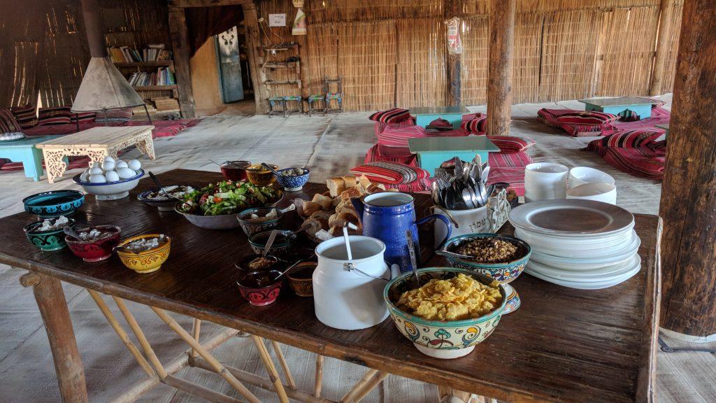 ארוחת הבוקר המפנקת בחאן בארותיים