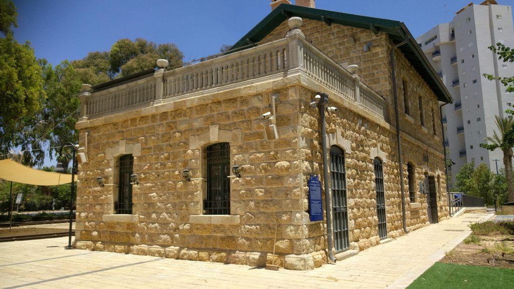 מתחם הקטר בעיר באר שבע מבנה התחנה