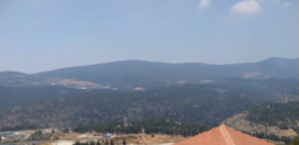 צפת תצפית על הר מירון