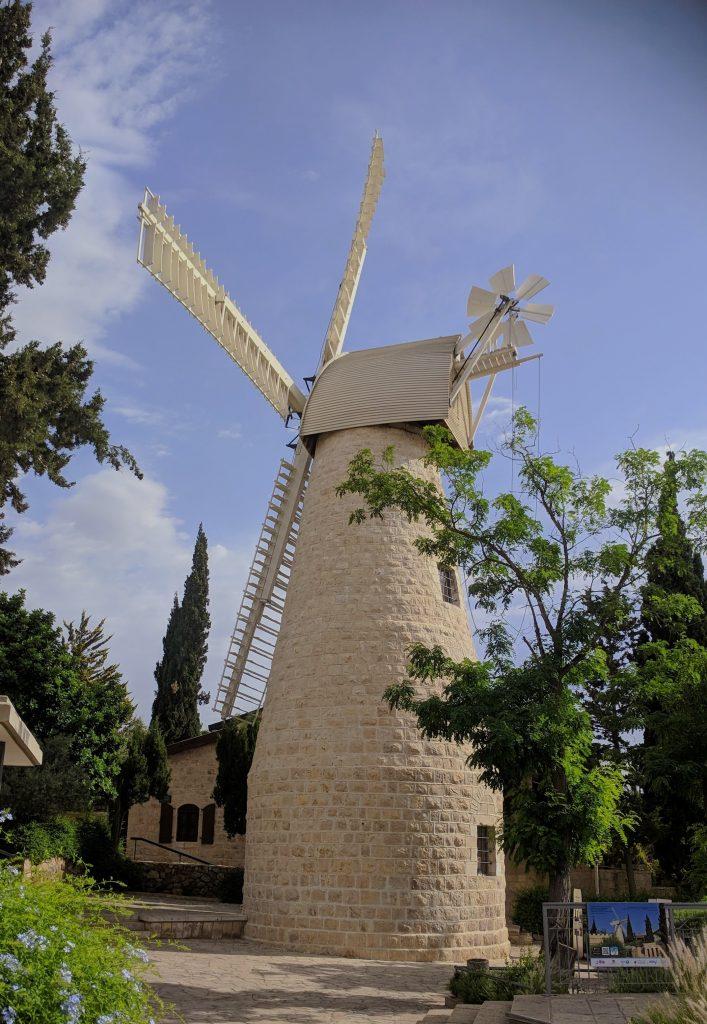 ירושלים טחנת הרוח ימין משה