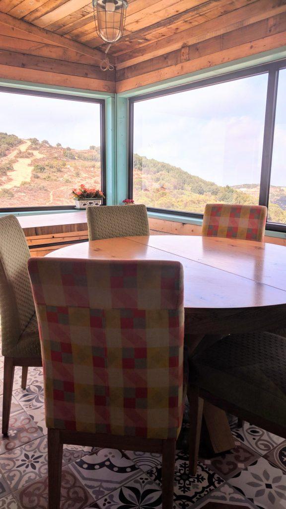 """תצפית ממסעדת הר האר""""י"""