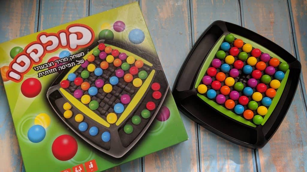 משחקי קופסא עם הרבה צבעים