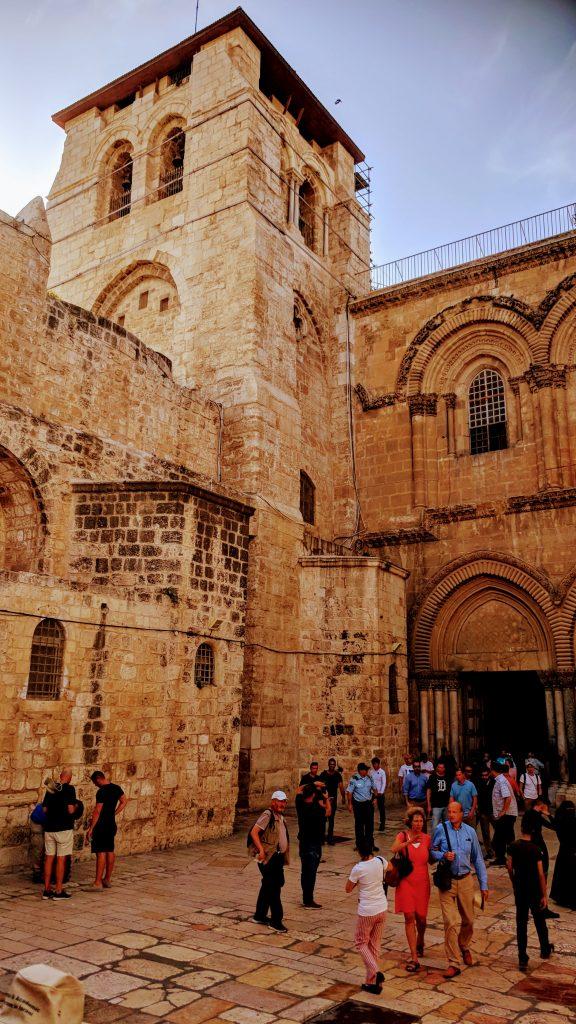 העיר העתיקה כנסיית הקבר