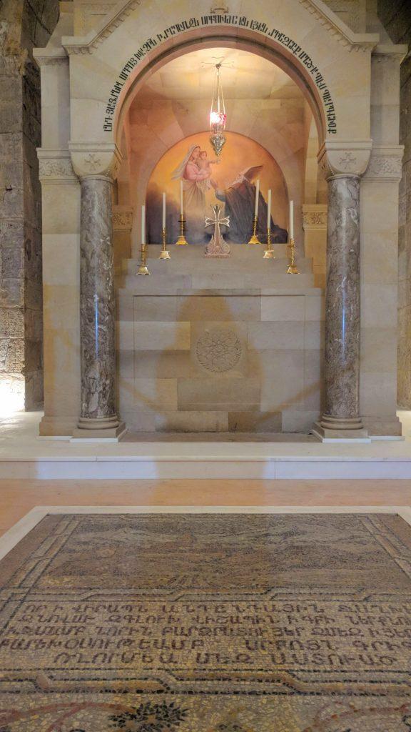 העיר העתיקה כנסיית הקבר קפלת הלנה
