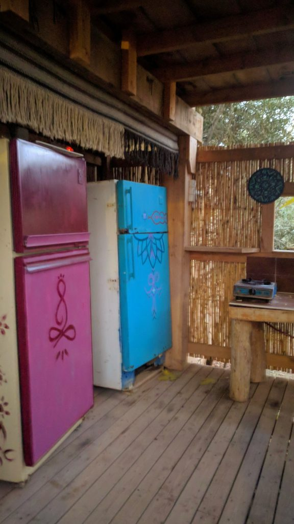 כפר הנוקדים מתחם הבישול
