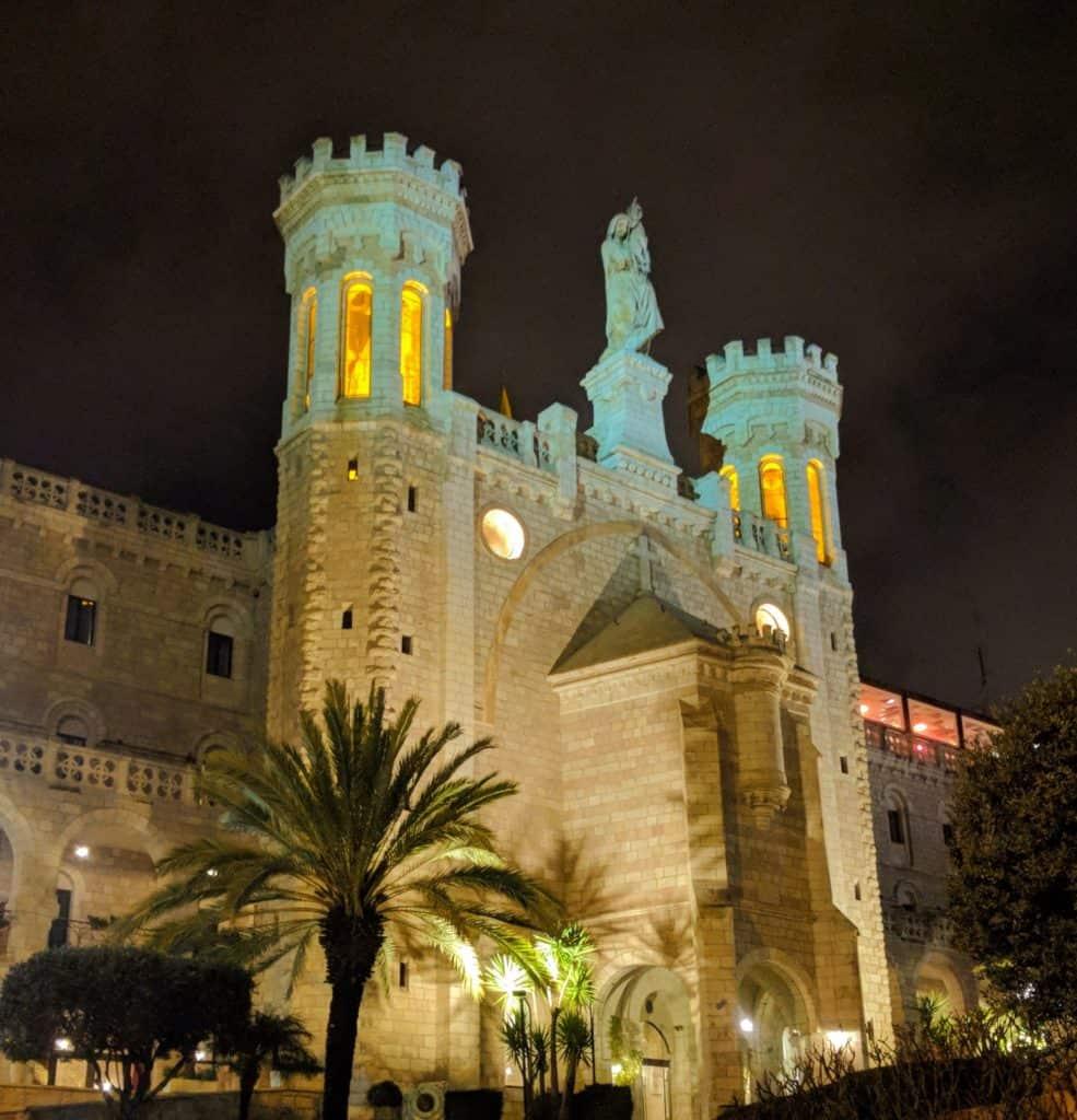 ירושלים שמתחת נוטרדם דה ג'רוזלם