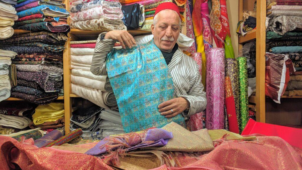 ירושלים שמתחת החנות הבדים של בלבל אבו כלף