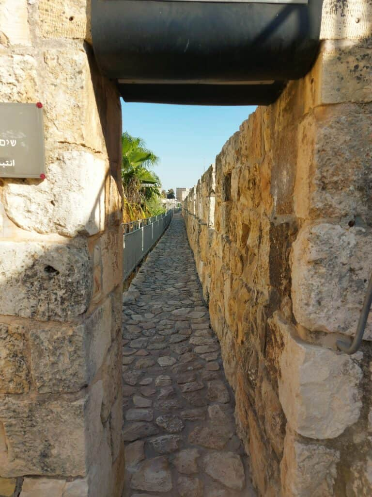 ירושלים של מעלה חומות העיר