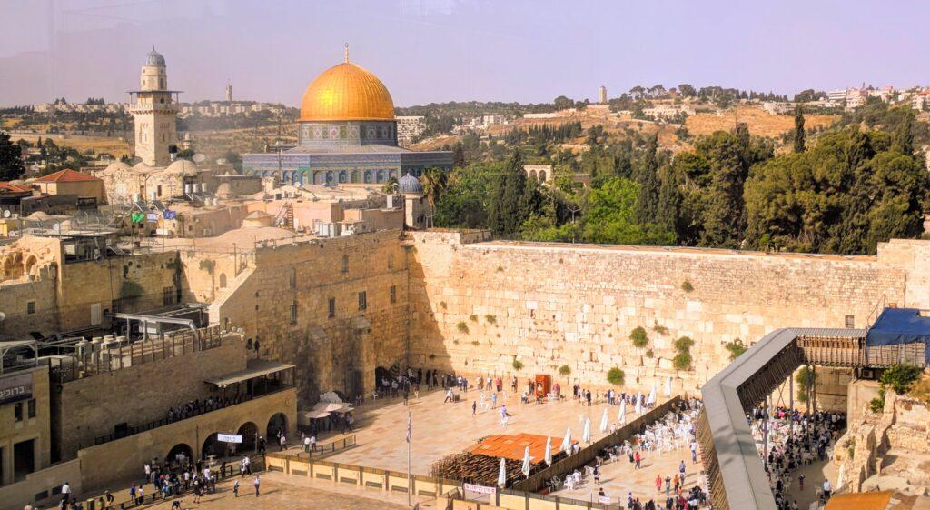 ירושלים של מעלה הכותל המערבי מישיבת אש תורה