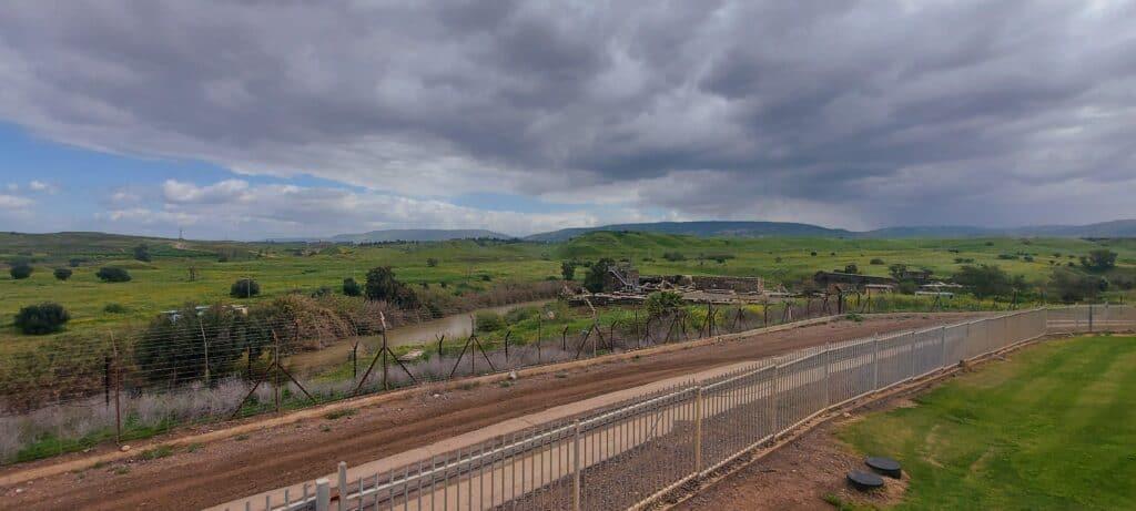 גשר הישנה נהריים תצפית על האתר