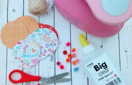קישוטים לסוכות – כדורים ציבעוניים שקל להכין עם הילדים